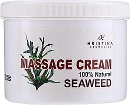 Profumi e cosmetici Crema da massaggio alle alghe - Hristina Cosmetics Seaweed Massage Cream