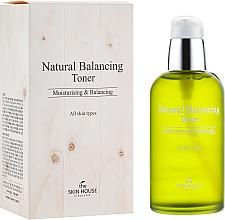 Profumi e cosmetici Tonico idratante e opacizzante per ripristinare l'equilibrio della pelle - The Skin House Natural Balancing Toner