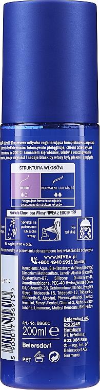 """Condizionante spray rigenerante per capelli secchi """"7 Plus"""" - Nivea Hairmilk Conditioner — foto N2"""