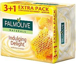 """Profumi e cosmetici Sapone """"Latte e Miele"""" - Palmolive Naturals Indulging Delulging Delight With Milk & Honey Soap"""