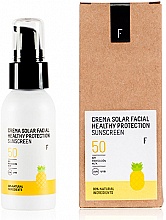 Profumi e cosmetici Crema solare per viso SPF 50 - Freshly Cosmetics Healthy Protection Facial Sun Cream