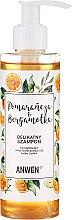 Profumi e cosmetici Shampoo all'arancia e bergamotto per cuoio capelluto normale e oleoso - Anwen Orange and Bergamot Shampoo