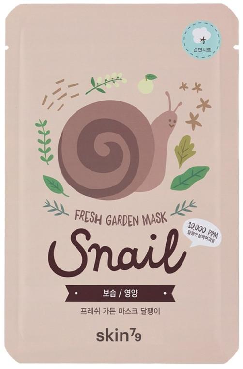 Maschera viso in tessuto - Skin79 Fresh Garden Mask Snail