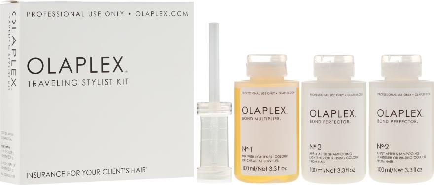 Kit da viaggio per proteggere i capelli durante la tintura - Olaplex Traveling Stylist Kit