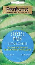 Profumi e cosmetici Maschera viso idratante con aloe vera - Perfecta Express Mask