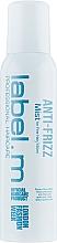 Profumi e cosmetici Spray capelli levigante - Label.m Anti-Frizz Mist