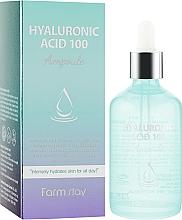 Profumi e cosmetici Siero idratante all'acido ialuronico - FarmStay Hyaluronic Acid 100 Ampoule