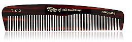 Profumi e cosmetici Pettine tascabile, 12,5 cm, marrone T 013 - Taylor of Old Bond Street