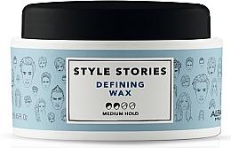 Profumi e cosmetici Cera capelli, a tenuta media, hold - Alfaparf Milano Style Stories Defining Wax Medium Hold
