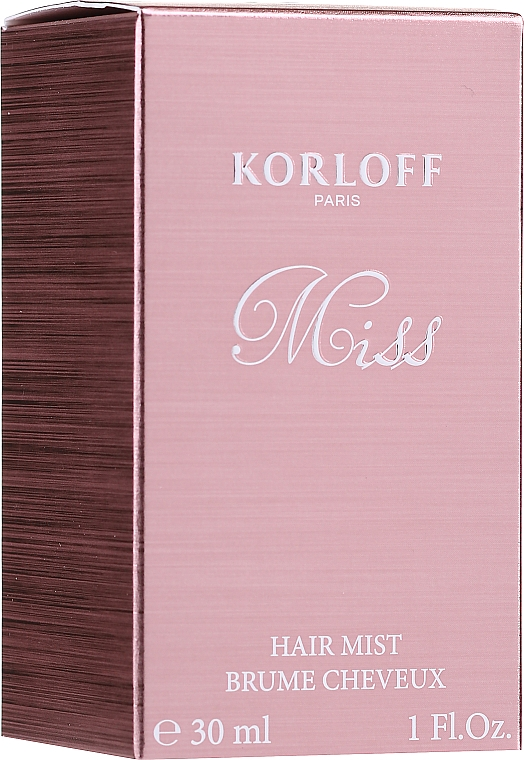 Korloff Paris Miss - Spray profumato per capelli