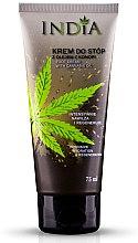 Profumi e cosmetici Crema piedi con olio di canapa - India Foot Cream With Cannabis