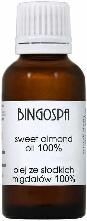 Olio di mandorle dolci 100% - BingoSpa — foto N1