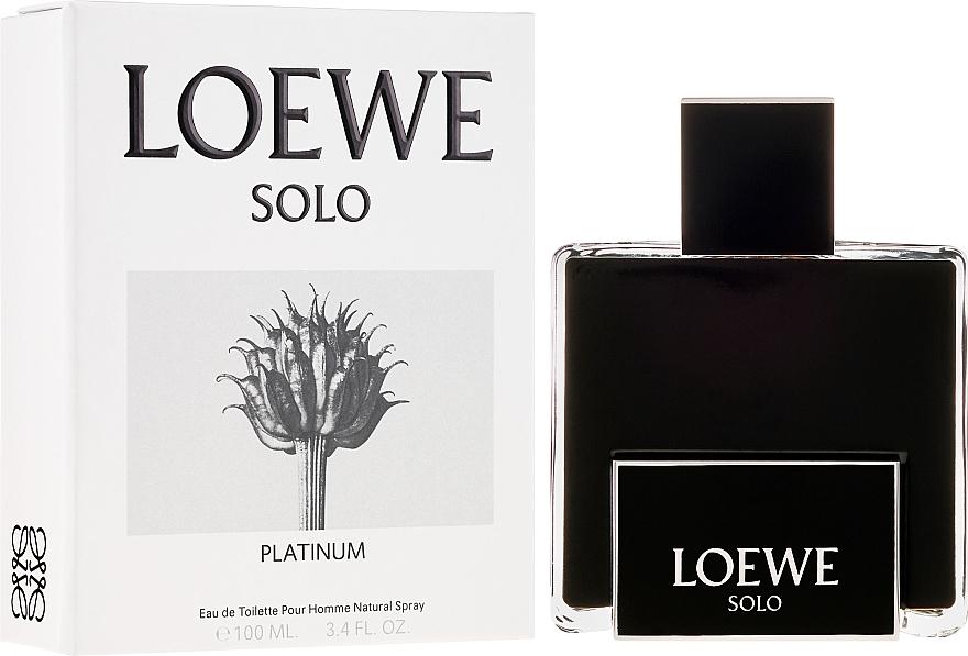 Loewe Solo Loewe Platinum - Eau de toilette  — foto N2