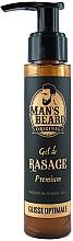 Profumi e cosmetici Gel barba delicato - Man's Beard Gel De Rasage Premium