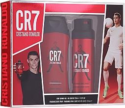 Profumi e cosmetici Cristiano Ronaldo CR7 - Set (edt/100ml + sh/gel/150ml + deo/spray/150ml)