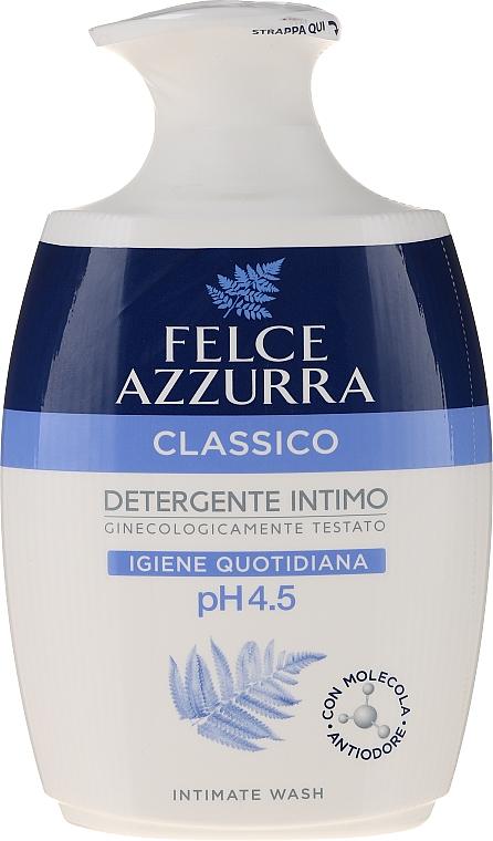 """Sapone liquido per l'igiene intima """"Classico"""" - Felce Azzurra Classic Intimate Wash"""