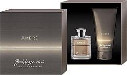 Profumi e cosmetici Baldessarini Baldessarini Ambre - Set (edt/100ml + sh/gel/50ml)