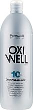 Profumi e cosmetici Emulsione ossidante 3% - Kosswell Professional Oxidizing Emulsion Oxiwell 3% 10vol