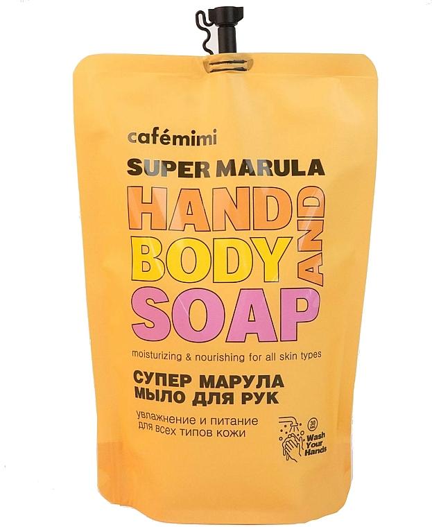"Sapone liquido ""Super Marula"" - Cafe Mimi Super Marula Hand And Body Soap (doypack) — foto N1"