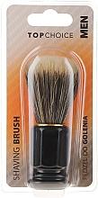 Profumi e cosmetici Pennello da barba, nero, 30321 - Top Choice