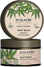 """Profumi e cosmetici Balsamo corpo """"Elasticità e rilassamento"""" - Ecolatier Organic Cannabis Body Balm"""