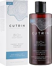 Profumi e cosmetici Shampoo capelli rinforzante, da uomo - Cutrin Bio+ Energy Boost Shampoo For Men