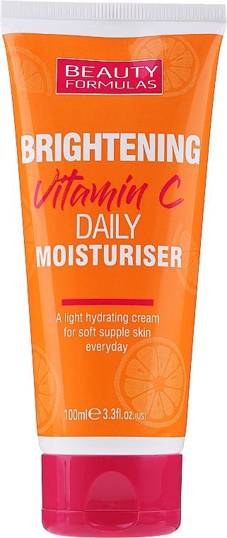Crema viso idratante e illuminante - Beauty Formulas Brightening Vitamin C Daily Moisturiser Cream