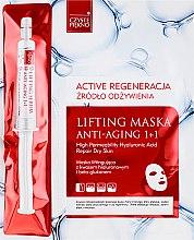 Profumi e cosmetici Maschera-siero viso - Czyste Piekno Active Regeneration + Serum