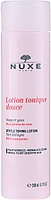 Profumi e cosmetici Lozione-tonica delicata con petali di rosa - Nuxe Gentle Toning Lotion With Rose Petals
