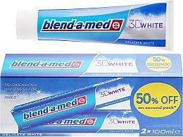 """Profumi e cosmetici Set dentifricio """"sbiancamento delicato"""" - Blend-a-med 3D White Delicate White Toothpaste"""