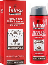 Profumi e cosmetici Crema-gel per viso e barba - Intesa Gel Cream Face And Beard