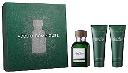 Profumi e cosmetici Adolfo Dominguez Agua Fresca Vetiver - Set (edt/120ml + asb/75ml + sh/gel75ml)