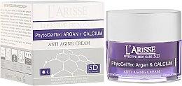 Profumi e cosmetici Crema antirughe con cellule staminali di argan e calcio BIO 75+ - Ava Laboratorium L'Arisse 5D Anti-Wrinkle Cream Stem PhytoCellTech Argan + Calcium