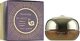 Profumi e cosmetici Crema per palpebre alla bava di lumaca - FarmStay Escargot Noblesse Intensive Eye Cream