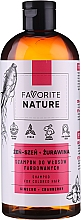 Profumi e cosmetici Shampoo per capelli colorati con estratti di ginseng e mirtillo rosso - Favorite Nature Shampoo For Colored Hair Ginseng & Cranberry
