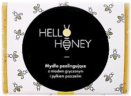 Profumi e cosmetici Sapone-peeling con polline d'api e miele - Lullalove Exfoliating Soap Bar With Honey