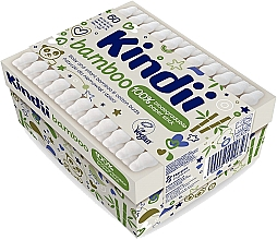 Profumi e cosmetici Cotton fioc per neonati e bambini - Kindii Bamboo Cotton Buds