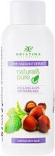 "Profumi e cosmetici Latte detergente ""Noce ""per la pelle normale - Hristina Cosmetics Cleansing Milk With Hazelnut Extract"