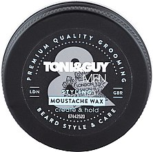 Profumi e cosmetici Cera per baffi - Toni & Guy Men Styling Moustache Wax