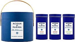 Profumi e cosmetici Acqua di Parma Blu Mediterraneo - Set (soap/3x70g)