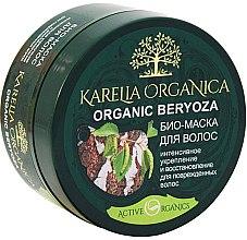 """Profumi e cosmetici Bio-maschera per capelli """"Organic Beryoza"""" rafforzamento e restauro intensivo - Fratty NV Karelia Organica"""