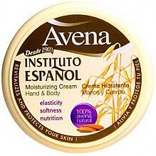 Profumi e cosmetici Crema mani e corpo idratante - Instituto Espanol Avena Moisturizing Cream Hand And Body