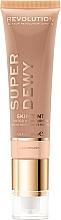 Profumi e cosmetici Crema viso idratante tonificante - Makeup Revolution Superdewy Skin Tint