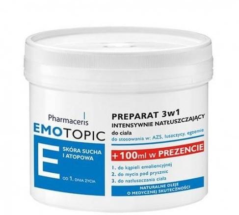 Preparazione intensiva per il ripristino della pelle 3 in 1 - Pharmaceris E Lipid-Replenishing Formula 3in1