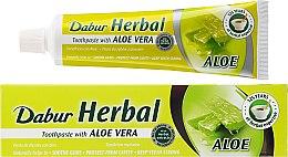 """Profumi e cosmetici Dentifricio """"Aloe vera"""" - Dabur Herbal Aloe Vera Toothpaste"""