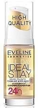 Profumi e cosmetici Fondotinta - Eveline Cosmetics All Day Ideal Stay Foundation