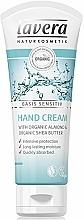 Profumi e cosmetici Crema mani - Lavera Basis Sensitiv Hand Cream Almond&Shea Butter