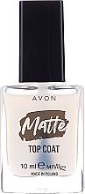 Profumi e cosmetici Top Coat opaco - Avon Matte Top Coat