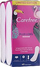 Profumi e cosmetici Assorbenti quotidiani igienici 2X40pz - Carefree Plus Long