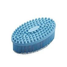 Profumi e cosmetici Spazzola corpo massaggiante, blu - Avon